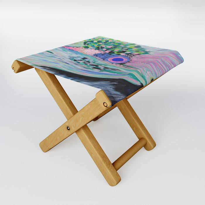 All Directions at Once Folding Stool