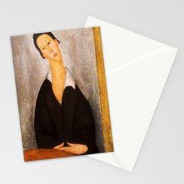 "Amedeo Modigliani ""Portrait of a Polish Woman"" Stationery Cards"