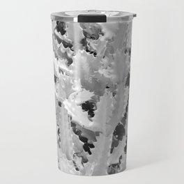 Cactus Pattern (Grey version) Travel Mug