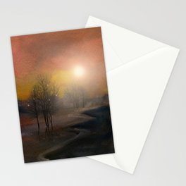Calling The Sun IX Stationery Cards