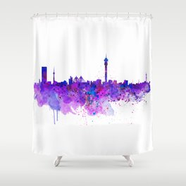 Johannesburg Skyline Shower Curtain