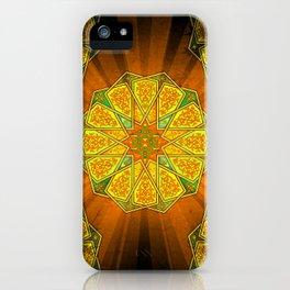 Boho Inner Light Yellow iPhone Case