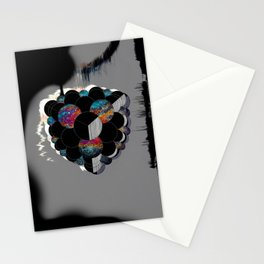 Figments of Black Flat Stationery Cards