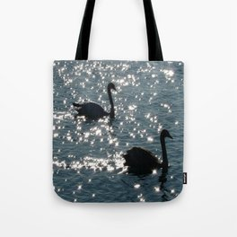 The Sparkle of the Swans Tote Bag