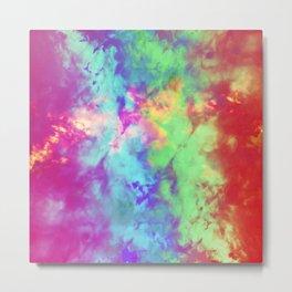 Painted Clouds Vapors II Metal Print