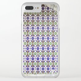 Traditional Arabic tiled drinking fountain Clear iPhone Case