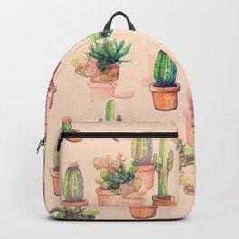 illusion cactus Backpack