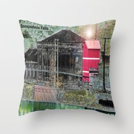 Snoqualmie Throw Pillow