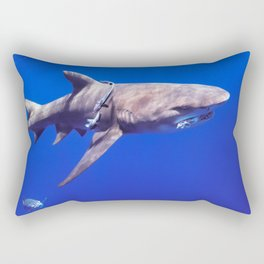 Fish Are Friends, Not Food Rectangular Pillow