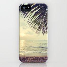 Vintage paradise iPhone Case