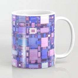 Blue Cubes Coffee Mug