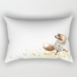 Eli the Fox Rectangular Pillow