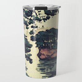 Autumn Rain in Yama Travel Mug