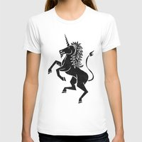 unicorn T-shirts featuring UNICORN by Matthew Taylor Wilson