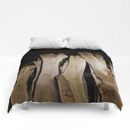 Wood Slabs Comforters