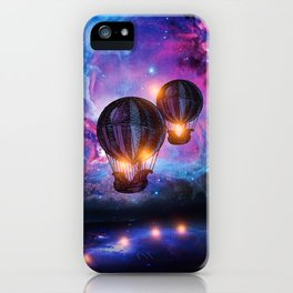 Space trip. iPhone Case