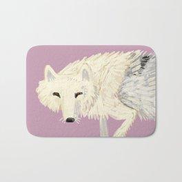 Totem Artic Wolf (arctos) Bath Mat