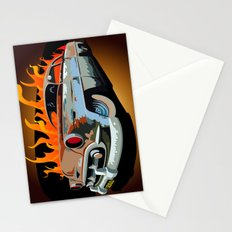 Caddy Rat Rod Stationery Cards