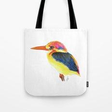 Kingfisher II Tote Bag