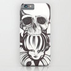 El mordisco de la calavera iPhone 6s Slim Case