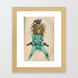 Eye-Pop Assassin Framed Art Print