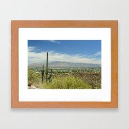 Tucson Framed Art Print