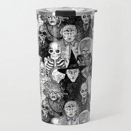 Horror Film Monsters Travel Mug
