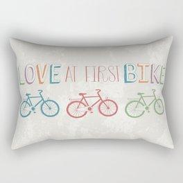 Have Fun And Enjoy A Bike Ride Rectangular Pillow