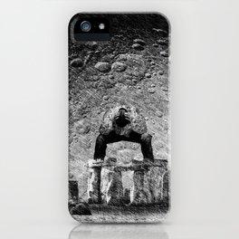 Stone & Despair iPhone Case