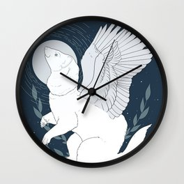 Fantasy Ferret Wall Clock