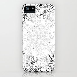 Synesthesia: Bad at Love (Halsey) iPhone Case