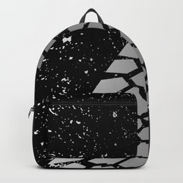 Grunge Skid Mark Backpack