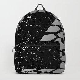 Grunge Skid Mark Backpack