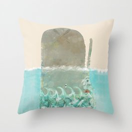into the wild the whale Throw Pillow