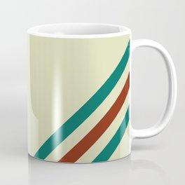 Vintage Racing Stripe Coffee Mug