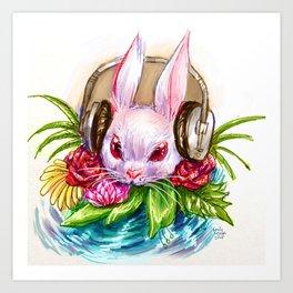 Rabbit Song Art Print