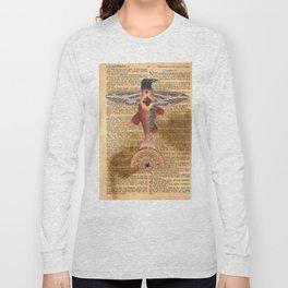 Sacred Heart Crow Long Sleeve T-shirt