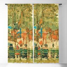"Maurice Prendergast ""Central Park"" 1901 Blackout Curtain"