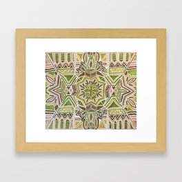 Earth Tapestry Framed Art Print