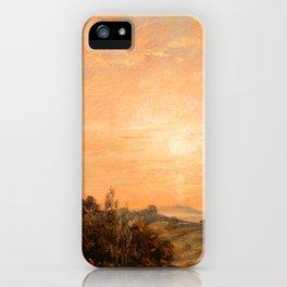 "John Constable ""Hampstead Heath looking towards Harrow"" (1) iPhone Case"