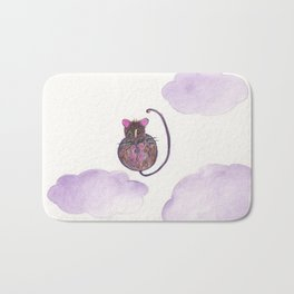 Mouse In The Sky Bath Mat