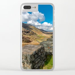 Nant Ffrancon Pass Snowdonia Clear iPhone Case