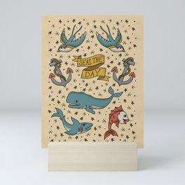 Seas the Day Mini Art Print