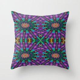 Arrow Kaleidoscope Throw Pillow
