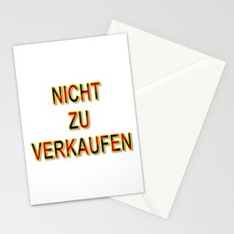 NOT FOR SALE E Stationery Cards