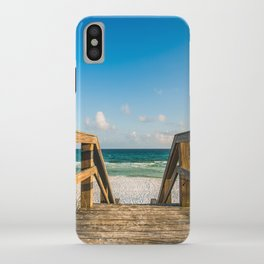 Head to the Beach - Boardwalk Leads to Summer Fun in Florida iPhone Case