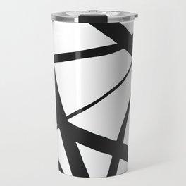 Broken Star Geometric Abstract Travel Mug