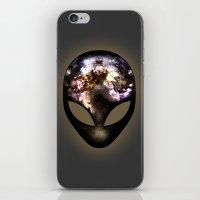 alien iPhone & iPod Skins featuring Alien by Spooky Dooky