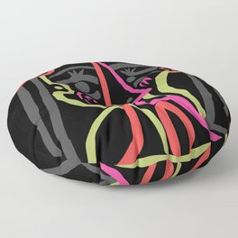 Picasso - Neon Colors Floor Pillow
