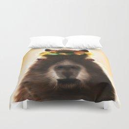 Capybara Shining Duvet Cover
